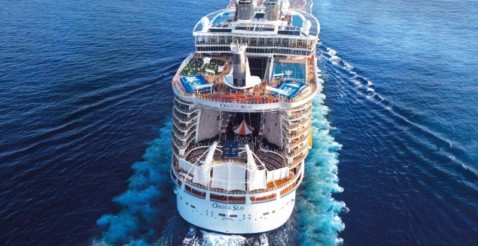 Oasis of the Seas finalmente in Italia